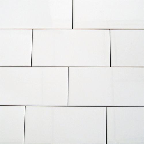 Duratile 25 x 40cm Gloss White Bellazza Wall Tile - 10 Pack