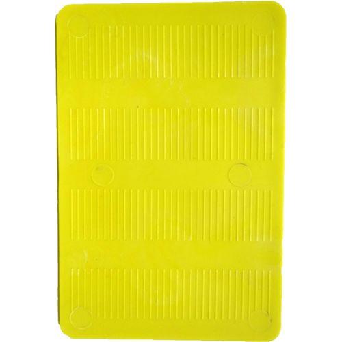Macsim Fasteners 150 x 100 x 5mm Yellow Full Shim - 4 Pack