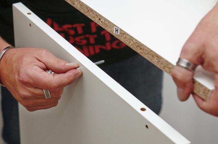DIY Step Image - How to build a walk-in wardrobe . Blob storage upload.