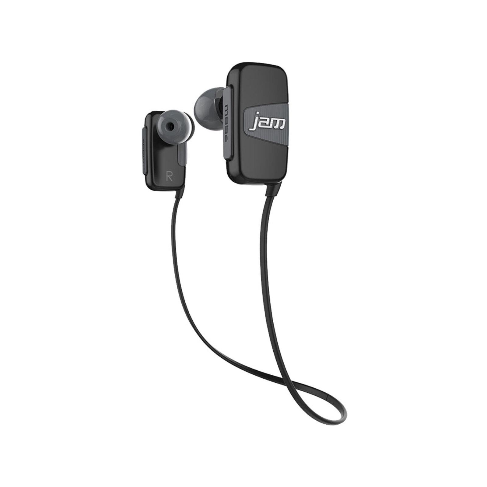 JAM Transit Mini Buds Bluetooth Sport Headset Wireless Earphones Sweatproof Grey
