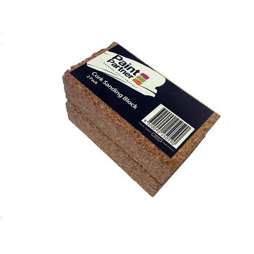 Paint Partner Cork Sanding Block - 2 Pack