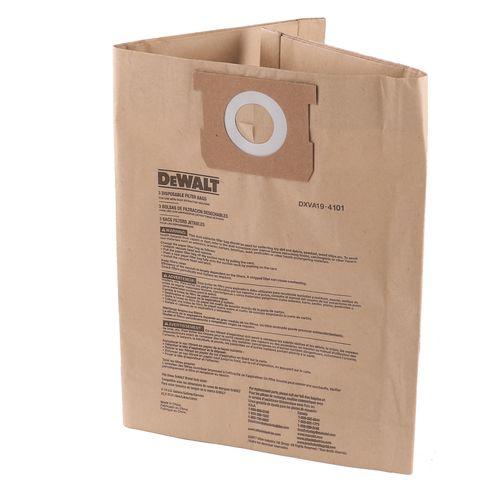 Dewalt 22-38L Dust Bag - 3 Pack