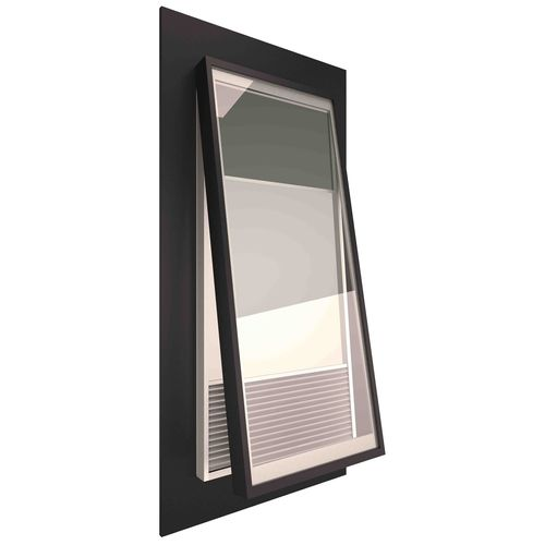 Ezylite 1000 x 550mm Smart Glass Opening Roof Window For Corrugated Roof