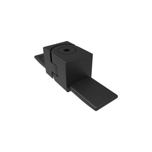 Architects Choice Black Aluminium Friction Fit Handrail Swivel Joiner