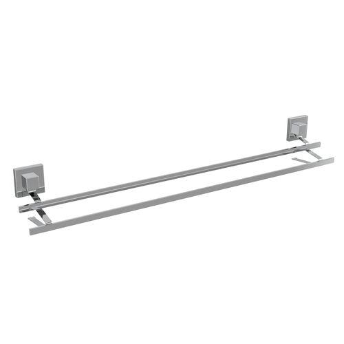 Fusion-Loc 80cm 26kg Stainless Steel Double Towel Rail