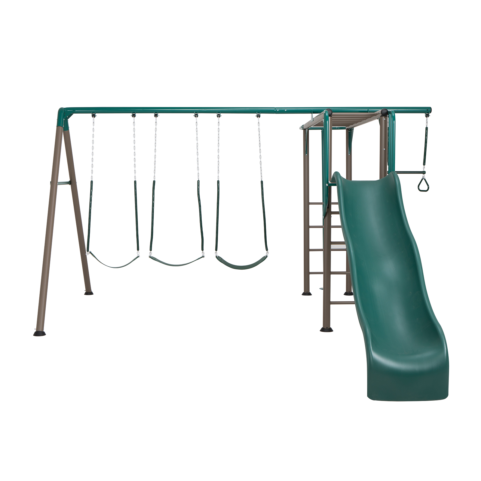 Swing Slide Climb Lifetime Monkey Bar Swing Set Play Equipment