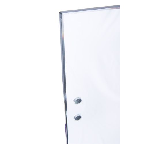 Architects Choice 1200 x 1000 x 12mm Glass Fence Hinge Panel