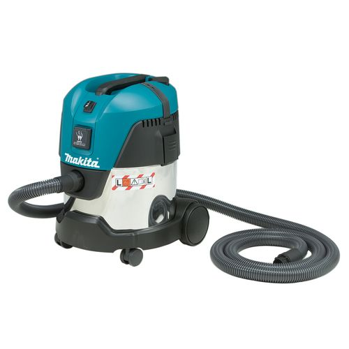 Makita 1000W 20L L Class Stainless Steel Tank Dust Extractor / Wet/Dry Vacuum