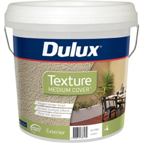 Dulux 10L Medium Texture Exterior Paint