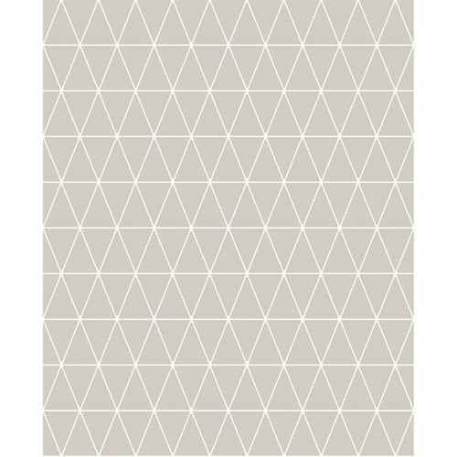 Superfresco Easy Triangolin Gris Wallpaper - Sample Triangolin Gris