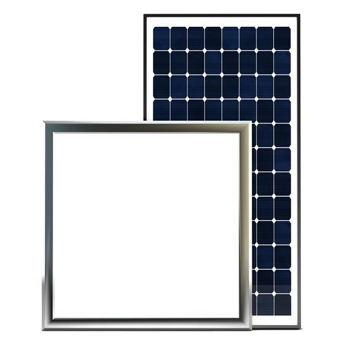 Ezylite 300 x 300mm Square Solar Light Skylight Kit