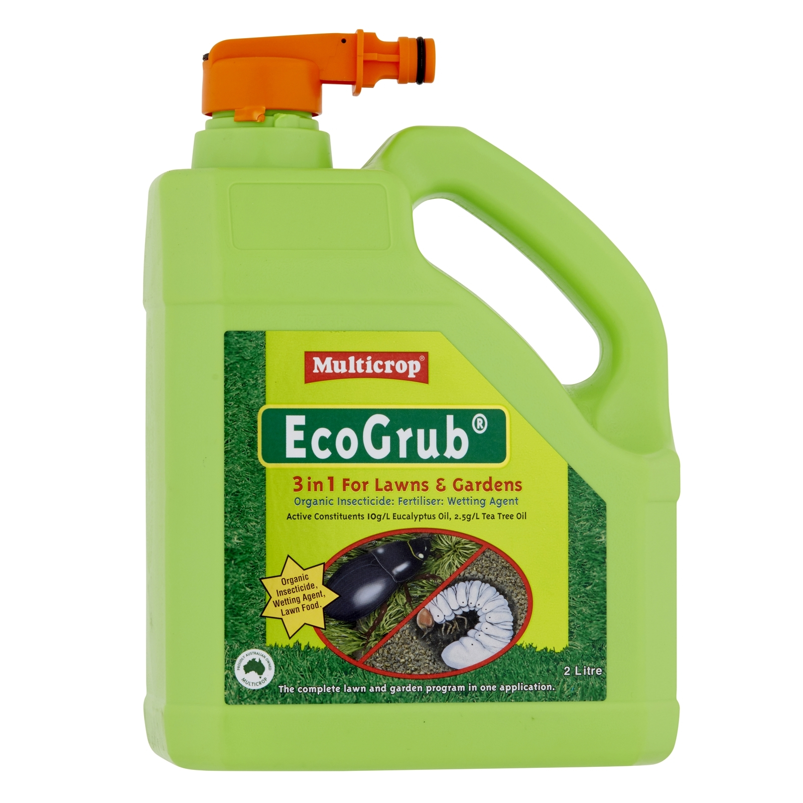 Multicrop 2L EcoGrub 3 In 1 Insecticide