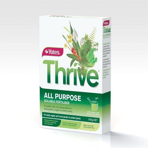 Yates Thrive Soluble Fertiliser All Purpose 500g