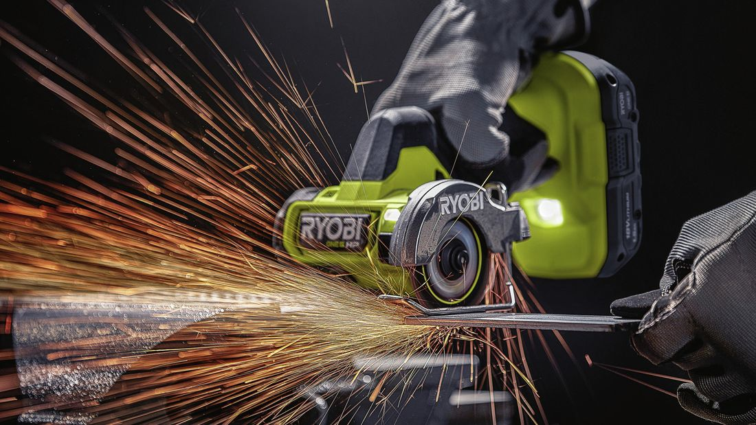 ryobi power tool cutting metal