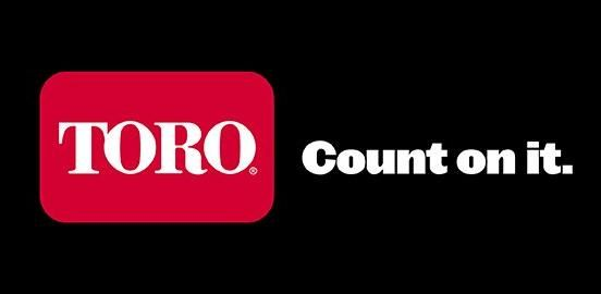Toro logo. Count on it.