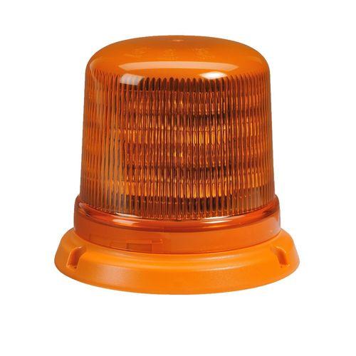 Narva Amber Eurotech L.E.D Strobe / Rotator Light With Flange Base