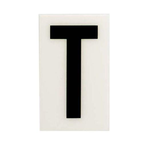 Sandleford 85 x 55mm T White Self Adhesive Letter