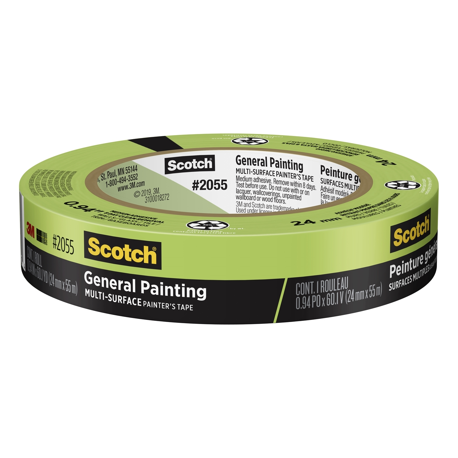 Scotch 24mm x 55m General Painting Painter's Masking Tape