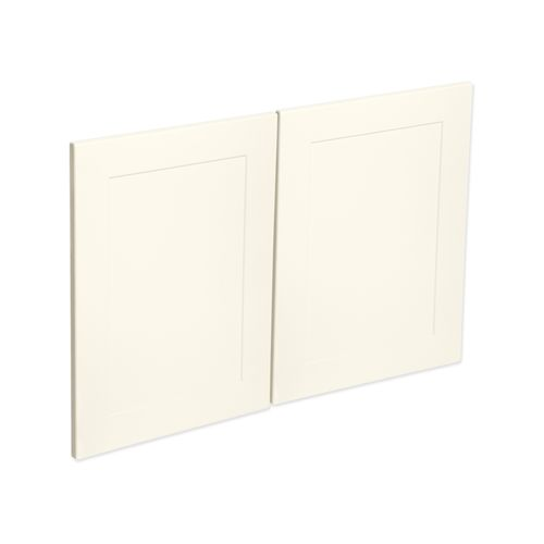 Kaboodle 900mm Antique White Alpine Rangehood Cabinet Doors - 2 Pack