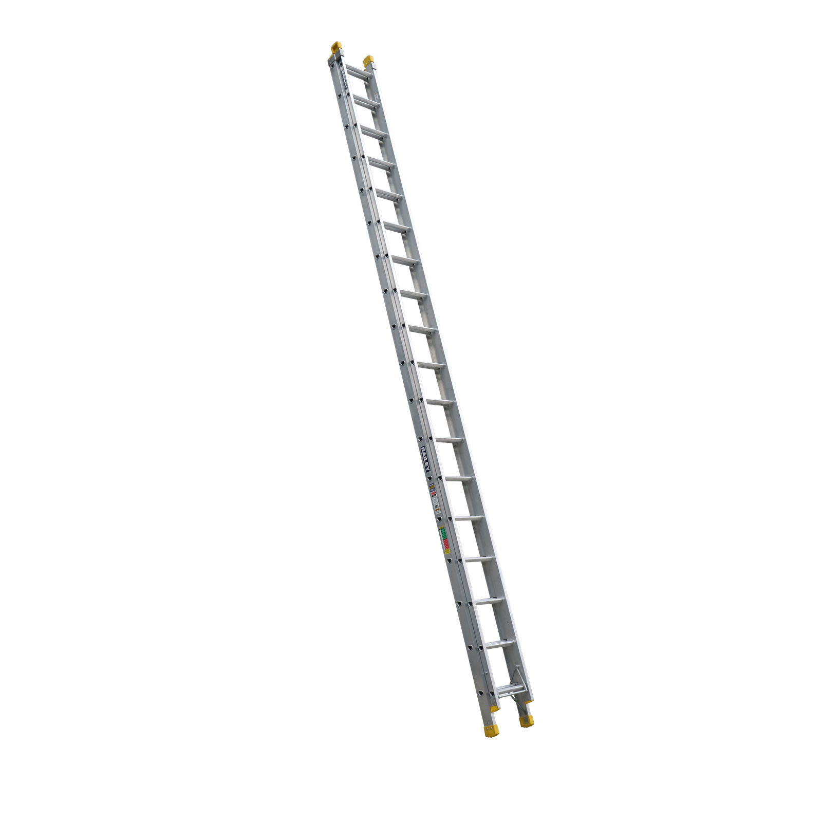 Bailey 5.6-10.2m 150kg Industrial Rated Pro 18 Rung Aluminium Extension Ladder