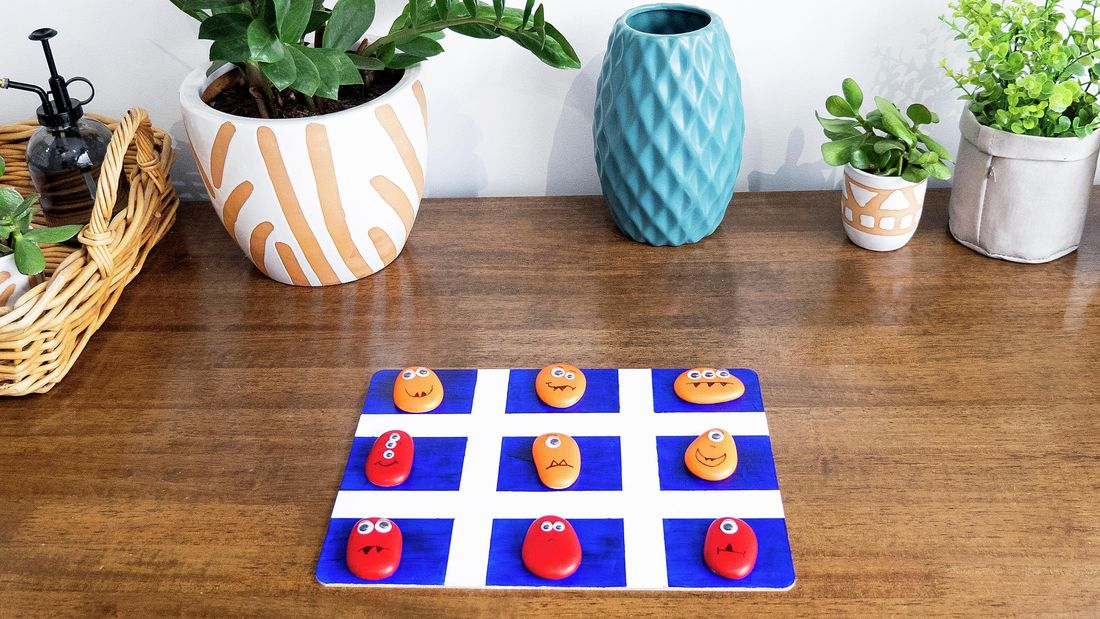DIY Advice Image - How to make a monster noughts and crosses game . G Drive blob storage upload.