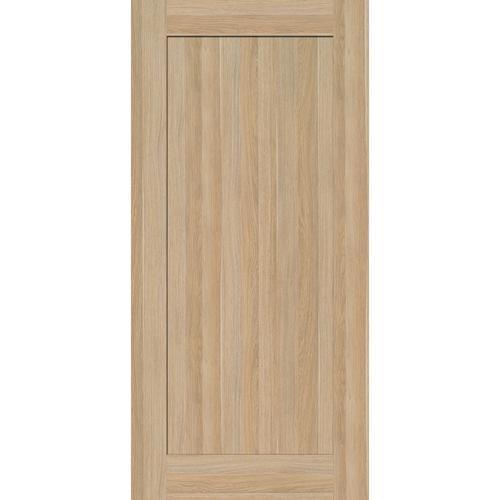 inBuilt 25 x 2100 x 1000mm Natural Wood Shaker Barn Door
