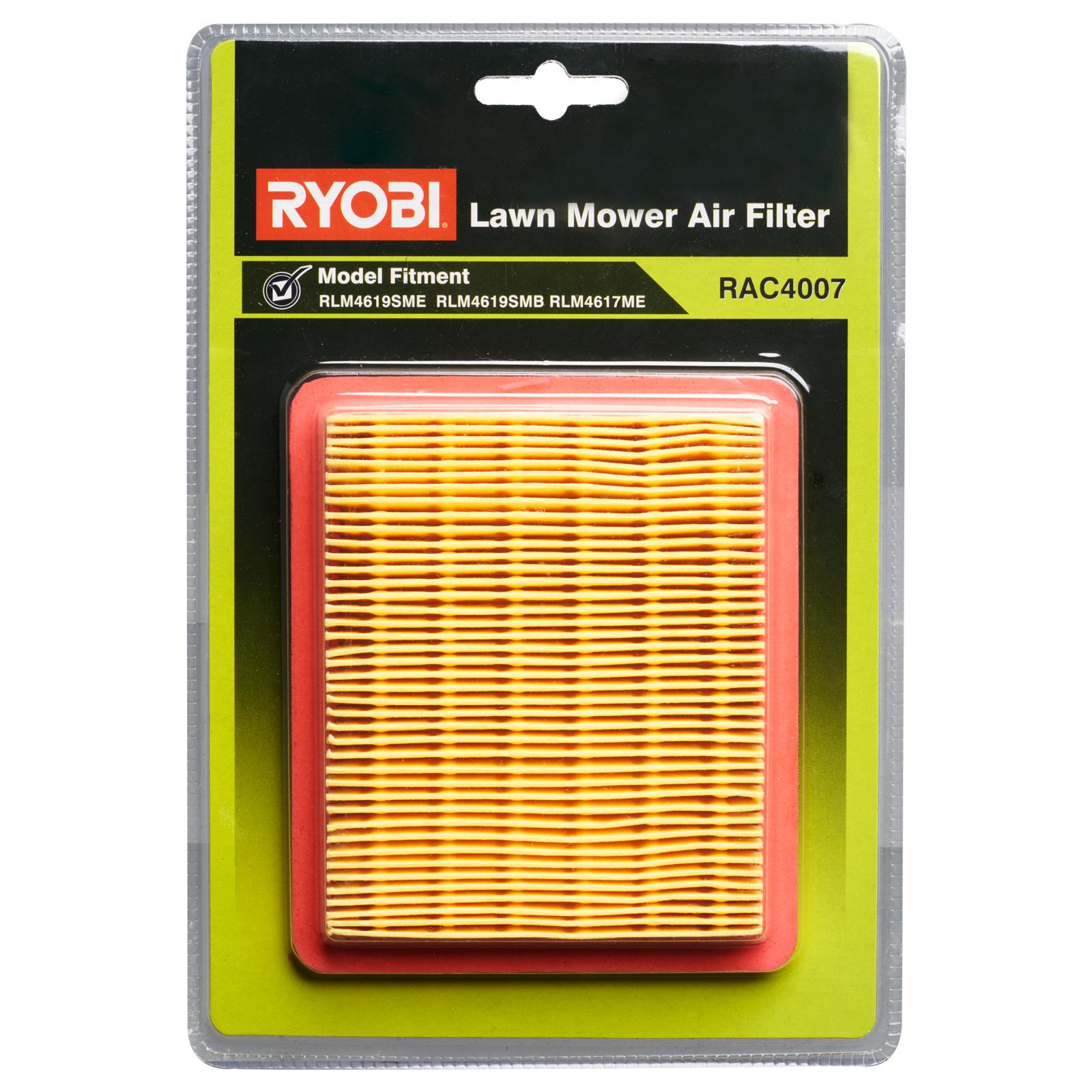 Ryobi Mower Replacement Air Filter