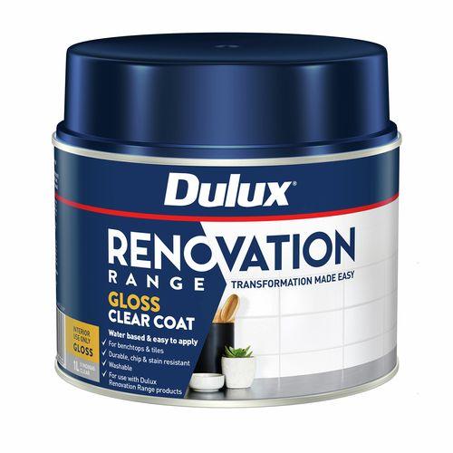 Dulux 1L Renovation Range Clear Coat Gloss