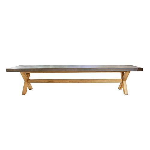 Nha Trang Concrete Dining Bench