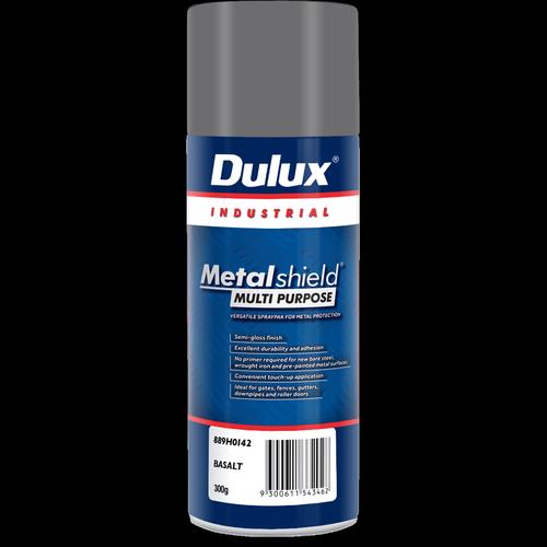 Dulux 300g Metalshield Multipurpose Spray Paint Basalt