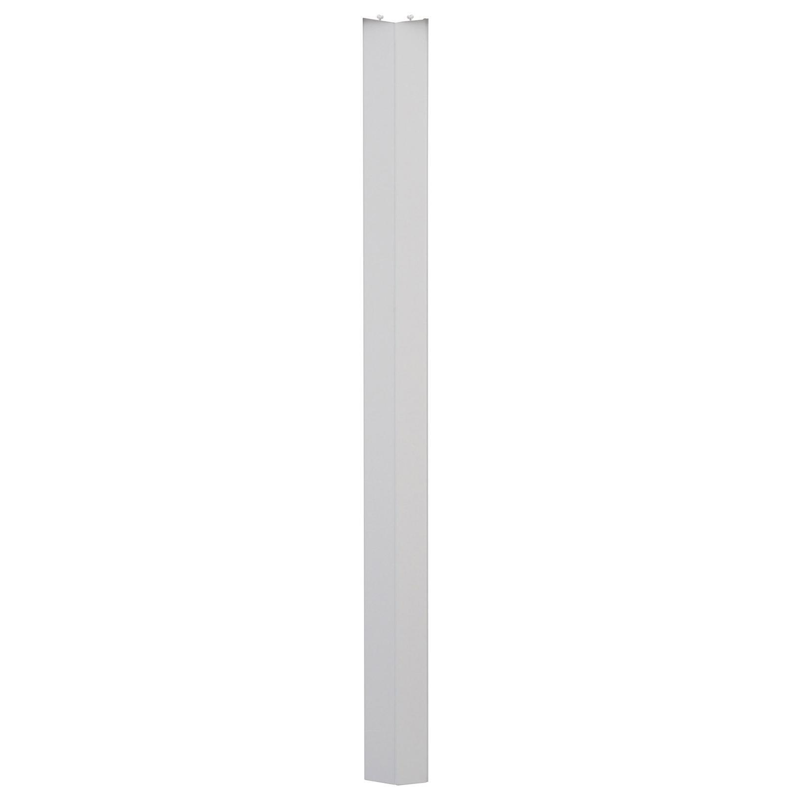 Pillar Products 11.5 x 240cm White Havana PVC Concertina Door Panels - 2 Pack