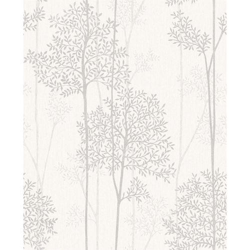 Superfresco Easy 52cm White Mica Eternal Wallpaper - White Mica Eternal ½m