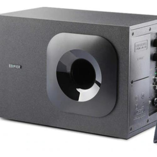 Edifier M1370BT 2.1 Bluetooth Multimedia Speakers - Bluetooth/5inch Super Bass Driver/Front facing Bass Reflex Port/3.5mm AUX/RC