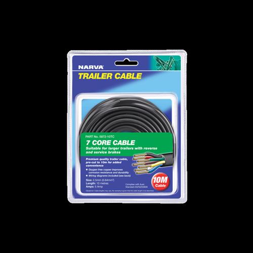 Narva 2.5mm x 10m Trailer 7 Core Cable