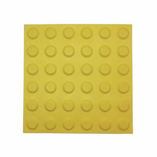 Brutus Yellow Stud Tactile Ground Surface Indicator Mats - 3 Pack