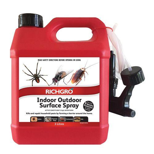 Richgro 3L Indoor Outdoor Surface Spray