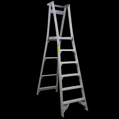 Indalex 1.8m 150kg Aluminium Platform Ladder