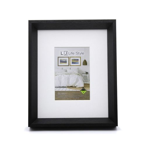 Boden 8 x 10inch/4 x 6inch Opening Black Photo Frame