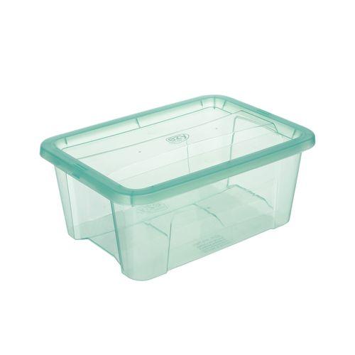 Ezy Storage 8L Teal Classic Storage Tub