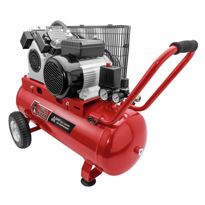 3HP 50L Oil Free Belt Driven Air Compressor