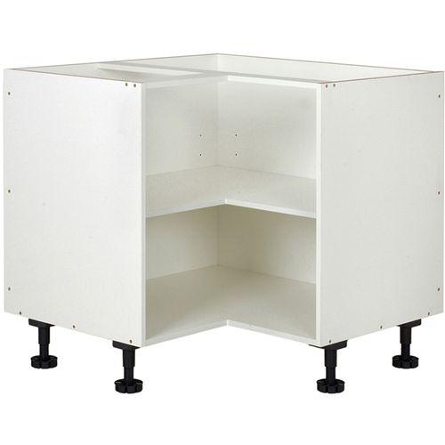 Kaboodle 900mm White Corner Base Cabinet