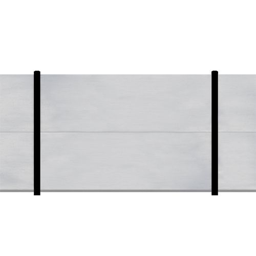 Slenderline 2400mm x 1800mm Modular Fencing Bay Kit