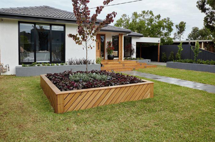 DIY Step Image - How to plan and landscape a garden makeover . Blob storage upload.