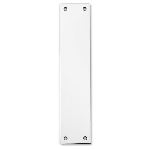 Lemaar 300 x 100 x 2mm Satin Stainless Steel Push Plate