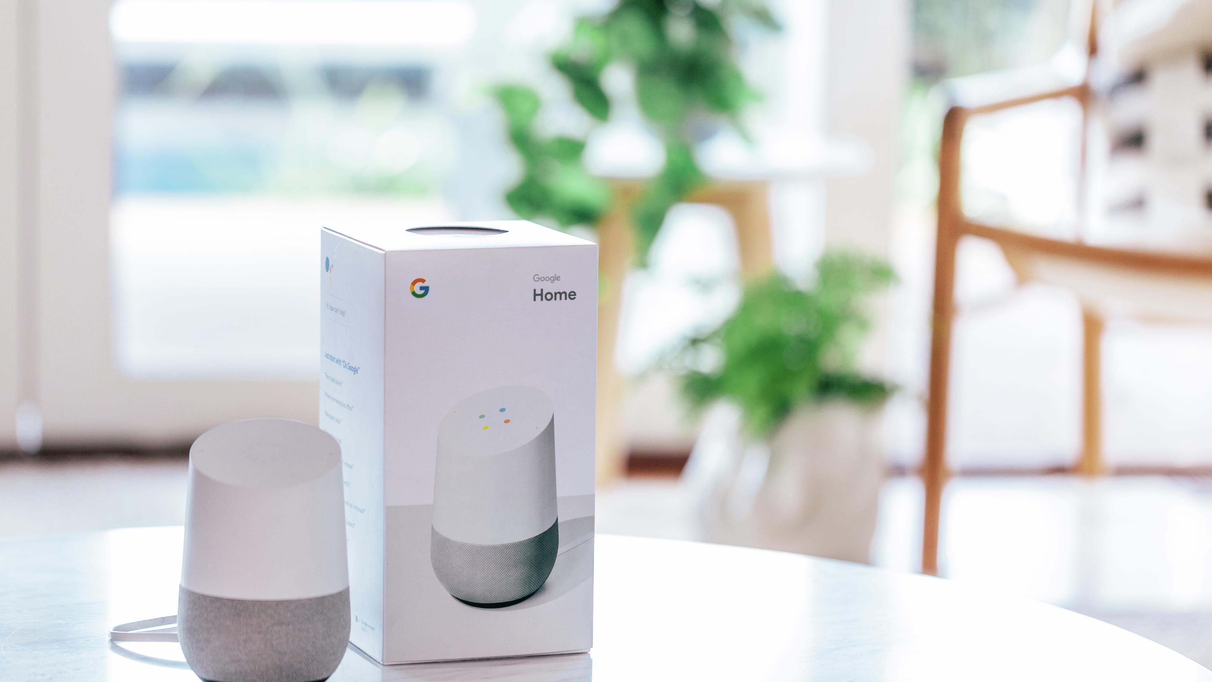 Google home speaker.