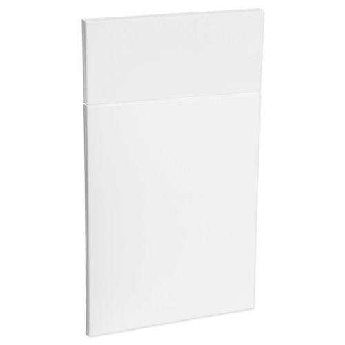 Kaboodle 450mm Modern Premium Vinyl 1 Door / 1 Drawer Panel - Vanilla Essence