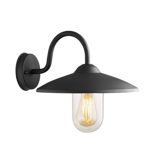 Arlec 60W Bristol Wall Farm Light Black