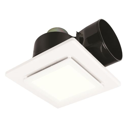 Brilliant 270mm Astro DIY Plug-in Square Exhaust Fan with LED Light