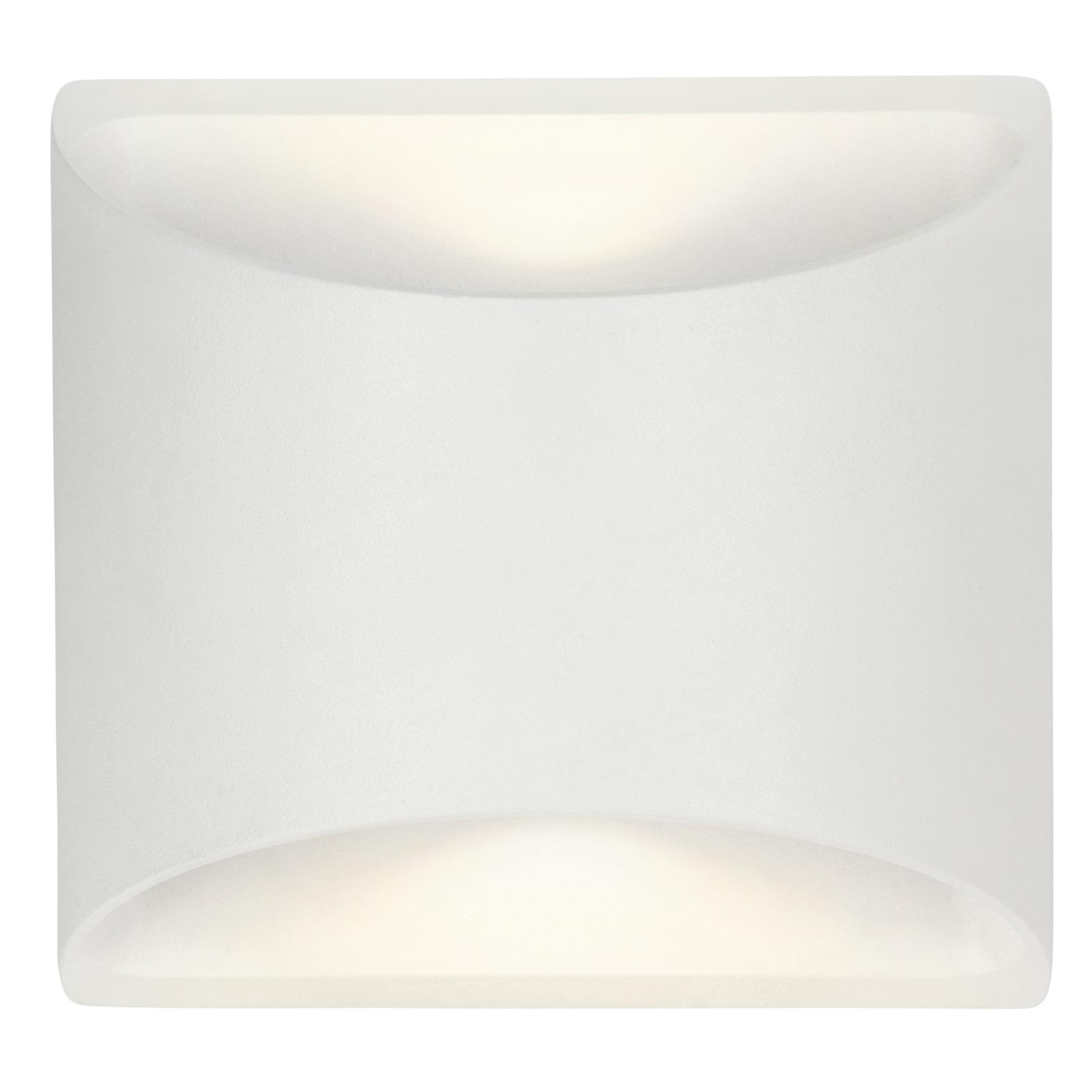 Brilliant 8W White Binley Up Down Wall Light