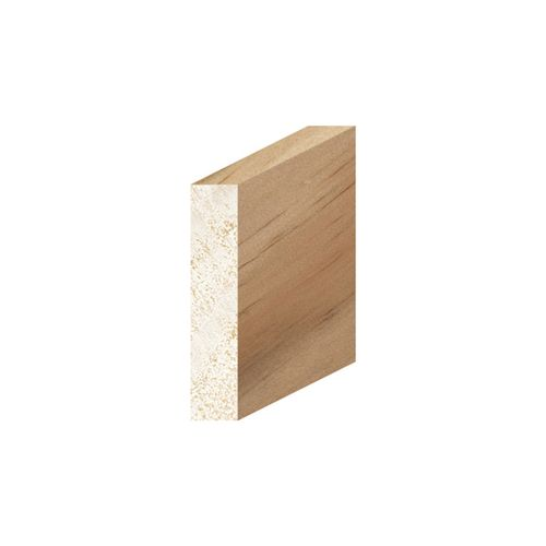 Porta 40 x 8mm 1.2m Pine Moulding Clear Coverstrap